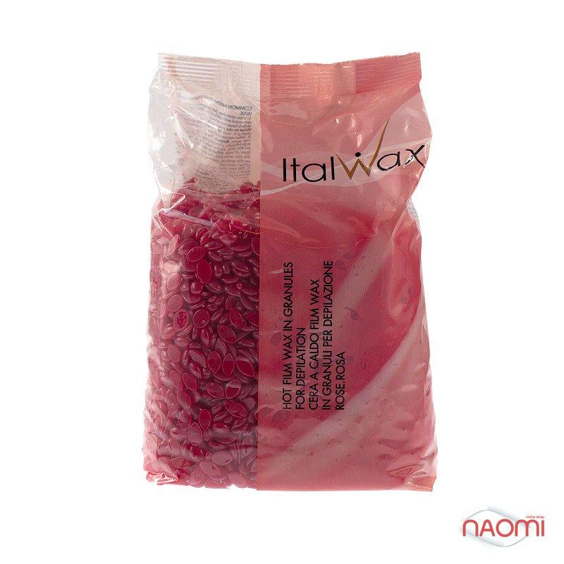 Воск гранулированный Ital Wax Роза (Винный), 1 кг, фото 1, 340.00 грн.