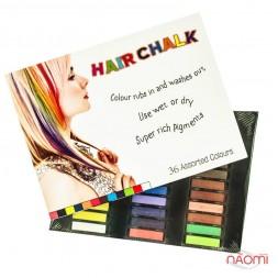 Мелки для волос Hair Chalking, 36 шт.