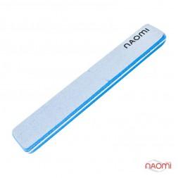 Шлифовщик для ногтей Naomi 100/100, голубой СO781A