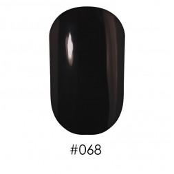 Лак Naomi 068 коричнево-черный, 12 мл
