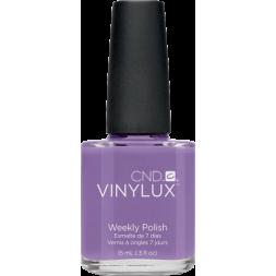 Лак CND Vinylux Weekly Polish 125 Lilac Longing яркий молочно-лиловый, 15 мл