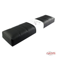 Подлокотник для рук Rainbow Store Премиум настольный прямой 42х10,5х4,5 см, цвет черный