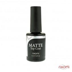 Топ матовый для гель-лака Naomi Gel MATTE Top Coat, 12 мл
