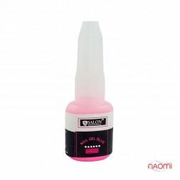 Клей-гель для ногтей с кисточкой Salon Professional, 10 г розовый