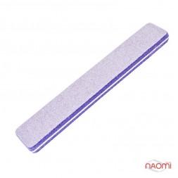 Шлифовщик для ногтей Naomi 80/80, фиолетовый CO780A