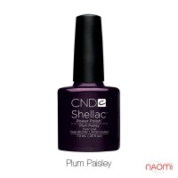 CND Shellac Plum Paisley сливовый, 7,3 мл