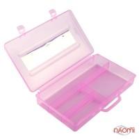 Контейнер для хранения на 4 секции, пластиковый, цвет в ассортименте R 563