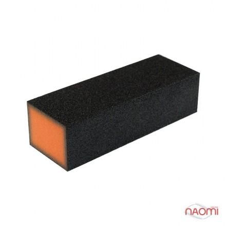 Бафик-шлифовщик для ногтей 4-ст., цвет оранжевый, фото 1, 14.00 грн.