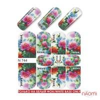 Слайдер-дизайн N 744 Цветы
