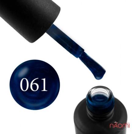 Гель-лак My Nail 061 темно-синий, с шиммерами, 9 мл, фото 1, 85.00 грн.