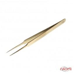 Пінцет Kodi Professional для нарощування вій G 10, прямий, 13 см
