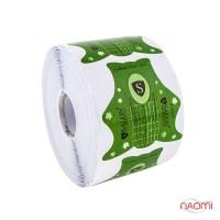 Формы для наращивания ногтей Salon Professional зеленые, 500 шт.