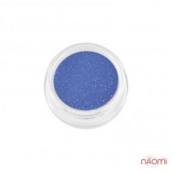Акрилова пудра My Nail № 1, колір лавандово-синій з блискітками, 2 г