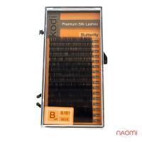 Вії Kodi professional Butterfly B 0.15 (8,9,10,11,12,13,14 мм)