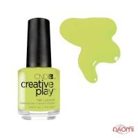 Лак CND Creative Play (427) Toe The Lime, зелений, 13,6 мл