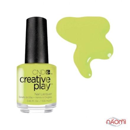 Лак CND Creative Play 427 Toe The Lime, зеленый, 13,6 мл, фото 1, 129.00 грн.