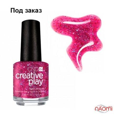Лак CND Creative Play (479) Dazzleberry, розово-фиолетовый, 13,6 мл, фото 1, 119.00 грн.