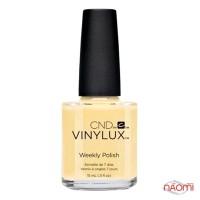 Лак CND Vinylux Flirtation 218 Honey Darlin, пастельно-жёлтый, 15 мл
