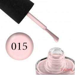 Лак NUB 015 Once In Malibu розовый, 14 мл