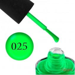 Лак NUB 025 Thrill Seeker неоновый зеленый, 14 мл