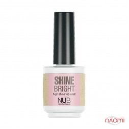 Топ для лака NUB Shine Bright, 15 мл