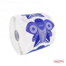 Форма Сова для нарощування нігтів (фіолетова), 500 шт.