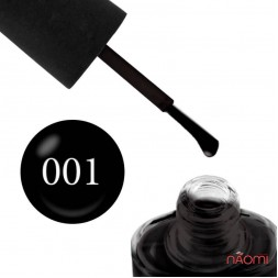 Лак NUB 001 Black Ink чорний, 14 мл