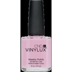 Лак CND Vinylux Weekly Polish 135 Cake Pop нежный розовый с лиловым оттенком, 15 мл