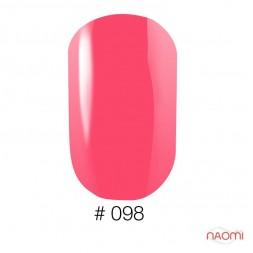 Лак Naomi 098 розовый фламинго эмалевый, 12 мл