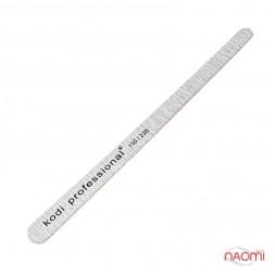Пилка для ногтей Kodi Professional 150/220 Grey, капелька