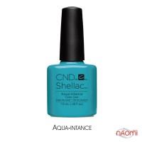 CND Shellac Flirtation Aqua-intance лазурно-голубой, 7,3 мл