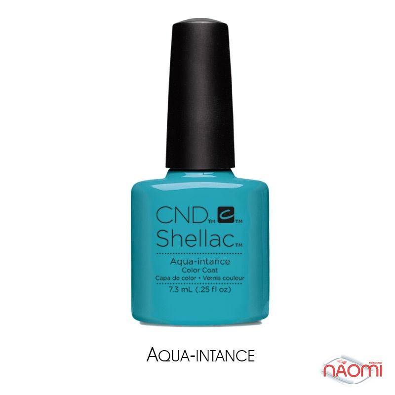 CND Shellac Flirtation Aqua-intance лазурно-голубой, 7,3 мл, фото 1, 339.00 грн.