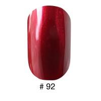 Лак Naomi 092 перламутровый вишнево-красный, 12 мл