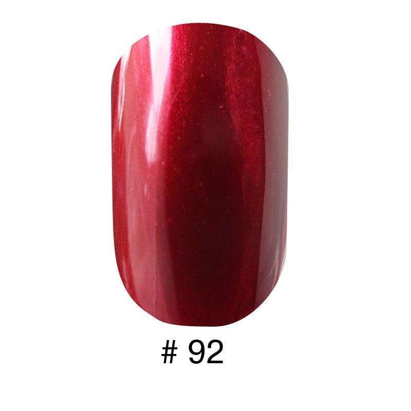 Лак Naomi 092 перламутровый вишнево-красный, 12 мл, фото 1, 60.00 грн.