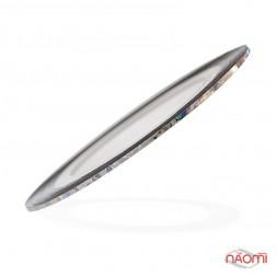 Лента-скотч для ногтей, цвет серебро с голограммой, 1 мм