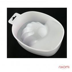 Ванночка для маникюра, цвет белый