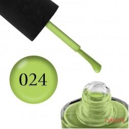 Лак NUB 024 Green Apple яблочный, 14 мл