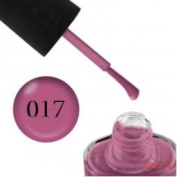 Лак NUB 017 Twisted Mind розово-фиолетовый, 14 мл