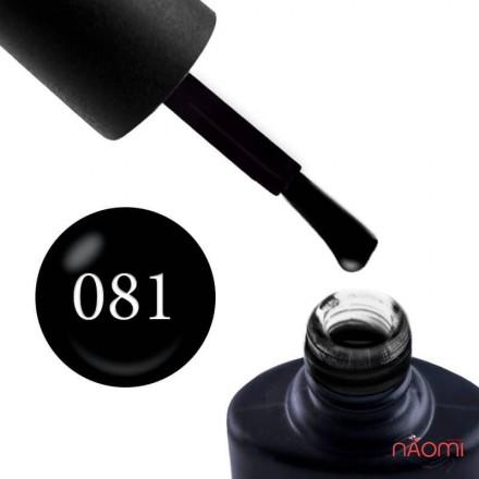 Гель-лак NUB 081 Back to Black черный, 8 мл, фото 1, 149.00 грн.