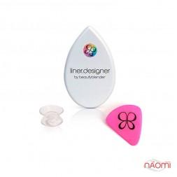 Трафарет для идеальных стрелок 3 в 1 The Beautyblender Liner Designer