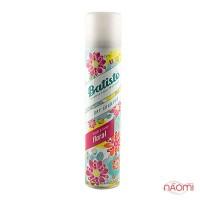 Сухой шампунь для волос - Batiste Dry Shampoo, Bright&Lively Floral, 200 мл
