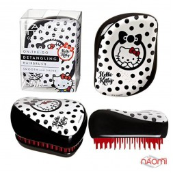 Расческа Tangle Teezer Compact Styler Hello Kitty Black, цвет черный