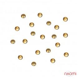 Декор для нігтів, стрази №37 Стрази жовті 1,5 мм 100 шт.