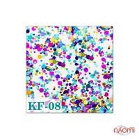 Декор для ногтей конфетти (камифубуки) KF 008