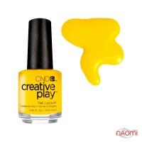 Лак CND Creative Play 462 Taxi Please, желтый, 13,6 мл