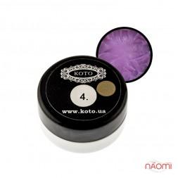 3D Гель-пластилин KOTO 04 светло-фиолетовый, 5 г