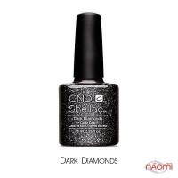 CND Shellac Dark Diamonds черный с блестками, 7,3 мл
