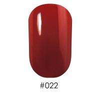Лак Naomi 022 яркий красный, 12 мл