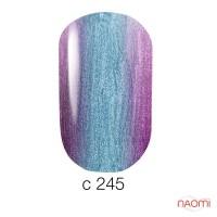 Гель-лак Naomi Chameleon 245 голубая лазурь, 6 мл