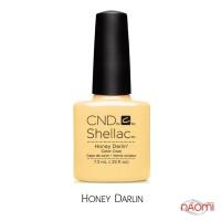 CND Shellac Flirtation Honey Darlin пастельно-жёлтый, 7,3 мл
